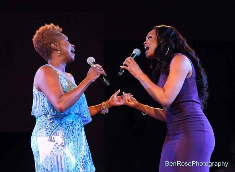 "Demetria McKinney Performing At The ""National Black American Film"" Event"