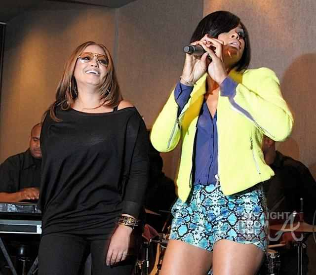 Pebbles & Demetria McKinney performed at the ASCAP R&B Soul ATL Legends Mixer at the W Atlanta - Midtown