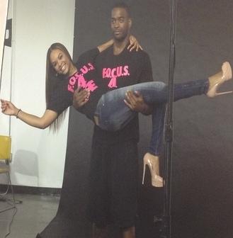 "Demetria McKinney & Josh Powell Behind The Scenes Photoshoot For The ""F.O.C.U.S 4 Life"" Campaign"