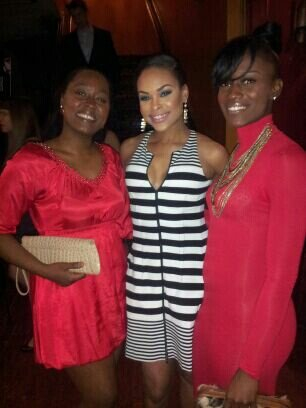 "Everlena Brummage, Demetria McKinney & Shupier Johnson At ""Hawks Casino Night"" Charity Event"