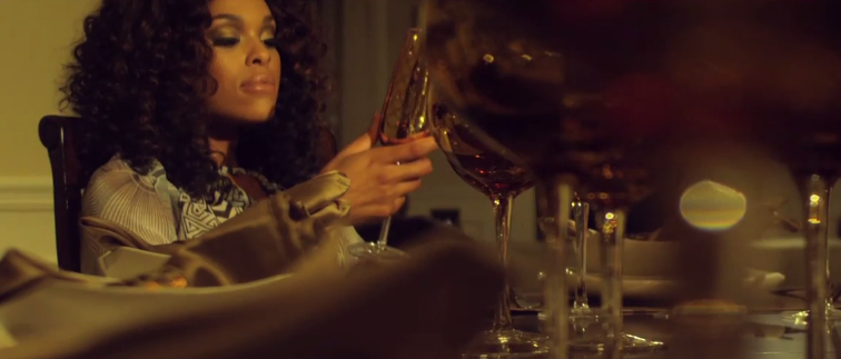 Demetria McKinney In Her Music Video 'Work With Me'