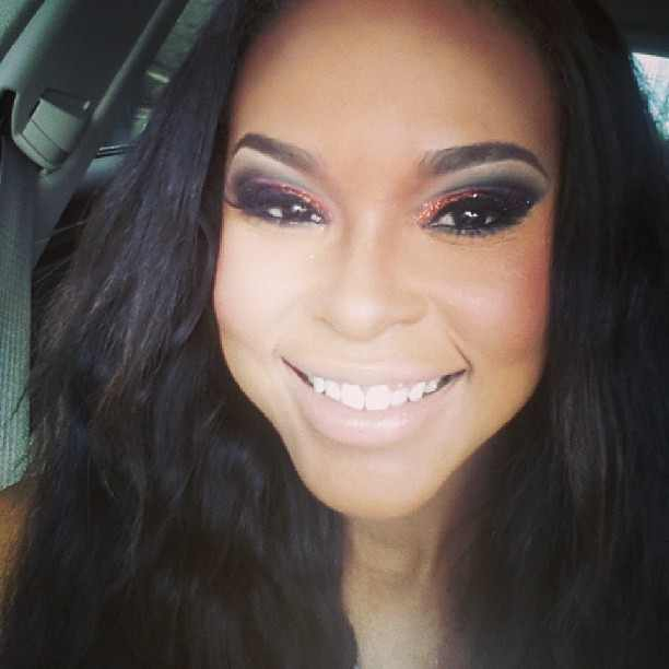 Demetria McKinney's Make Up Done By: Tatiana Ward