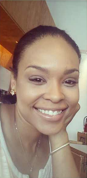 Demetria McKinney Eating Lunch At Chipotle!