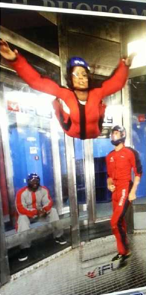 Demetria McKinney Went And Had Her Closet Skydiving Experience At I Fly Orlando!