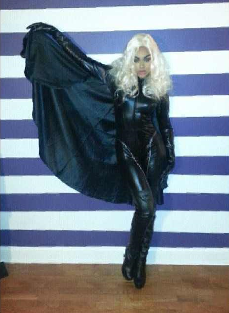 Demetria McKinney As 'Storm' For Halloween!