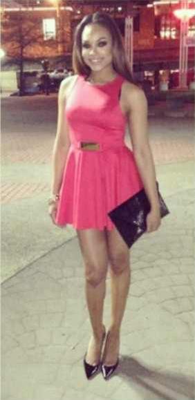 "Demetria McKinney At The ""Omega Psi Phi - Night Of Scholarship"""
