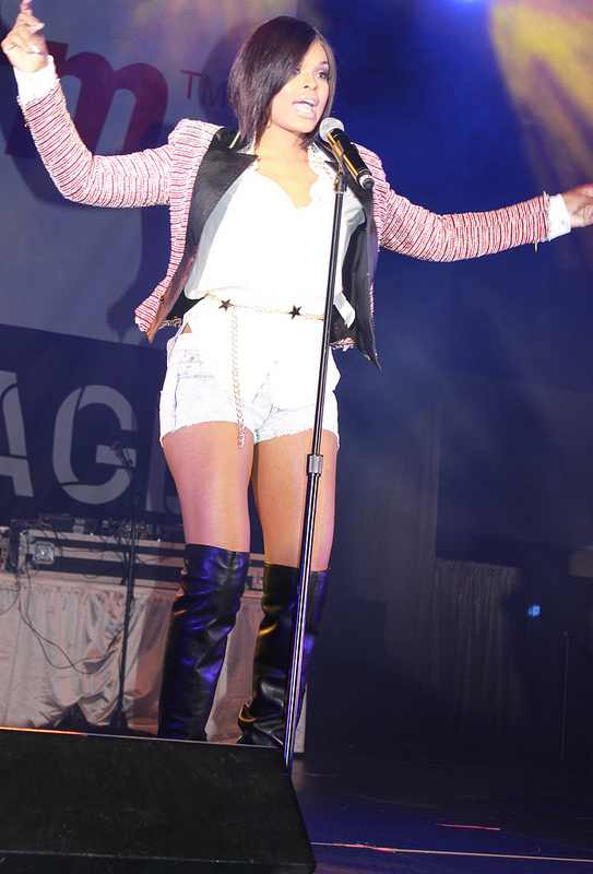 Demetria McKinney Performed At 'For Sisters Only'