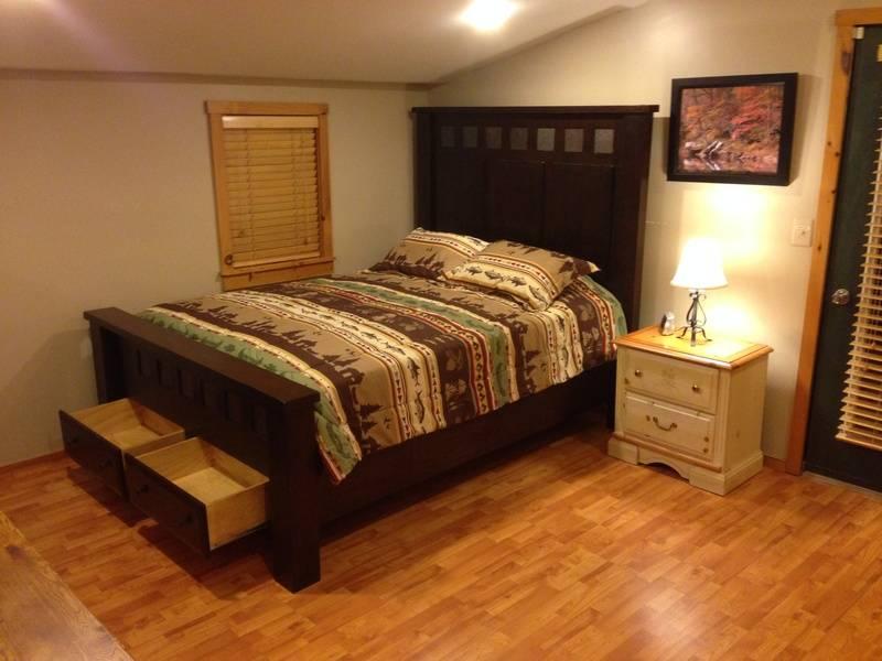Upper left bedroom