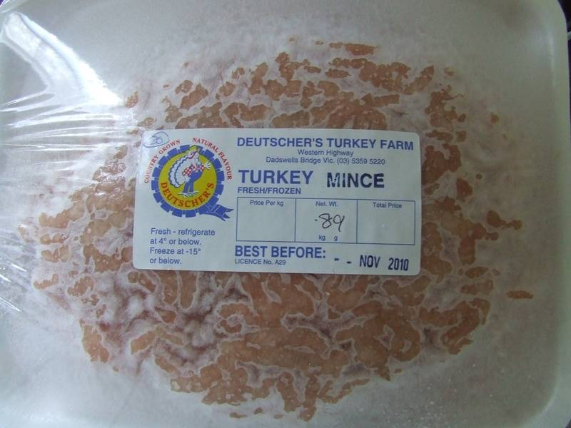 Turkey Mince