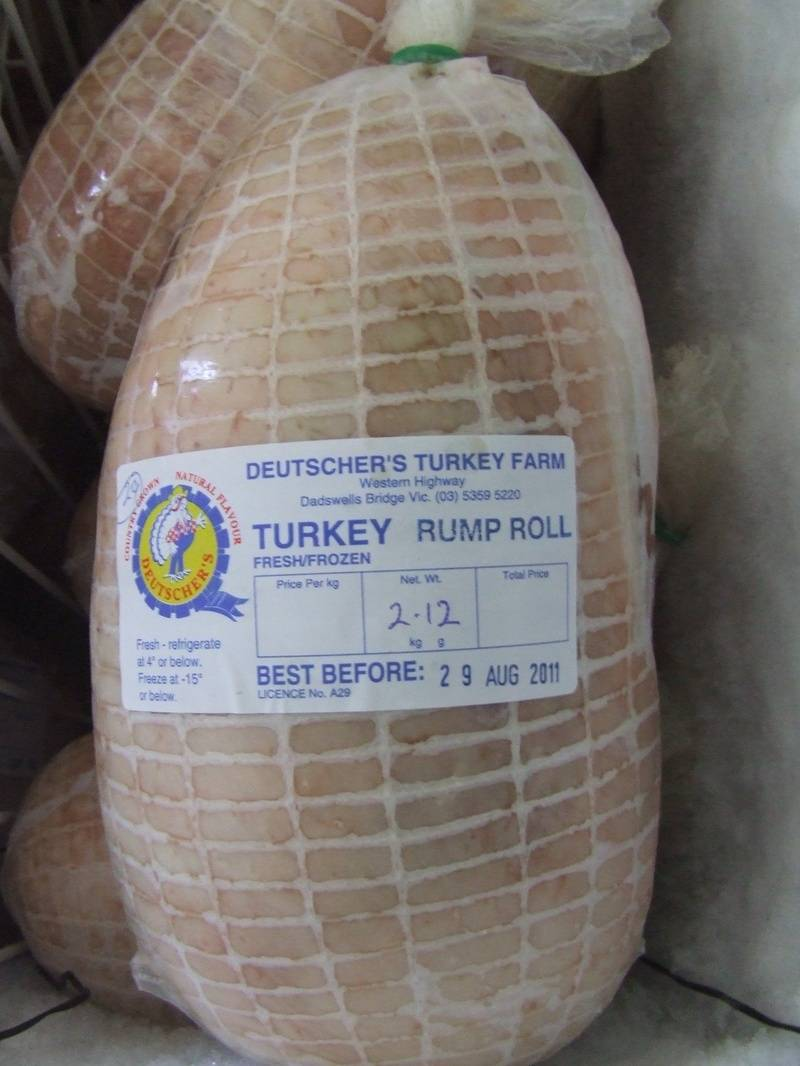 Turkey Rump Roll