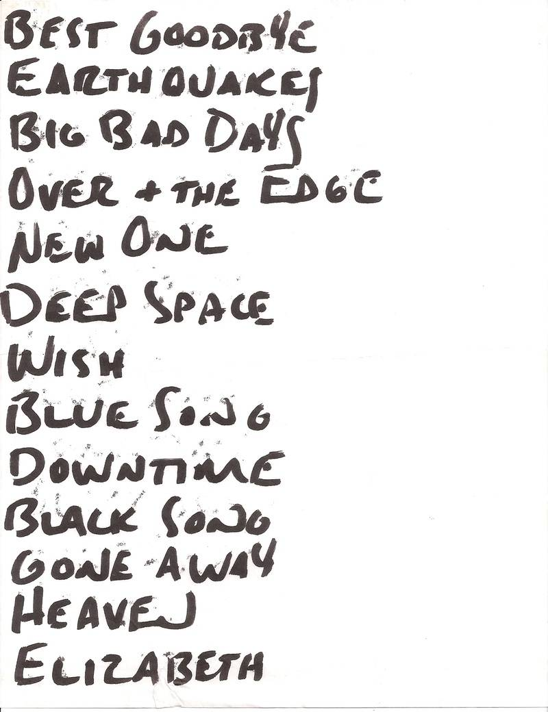 Setlist for Lounge Ax, Chicago, IL 1992-02-29