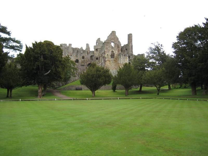 Dirleton Castle 18th April 2010