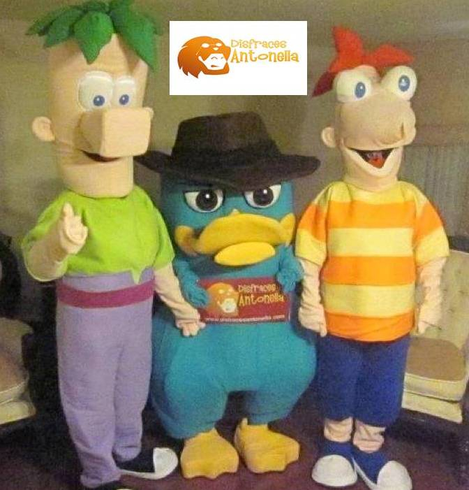 PHINEAS Y FERB Y PERRY