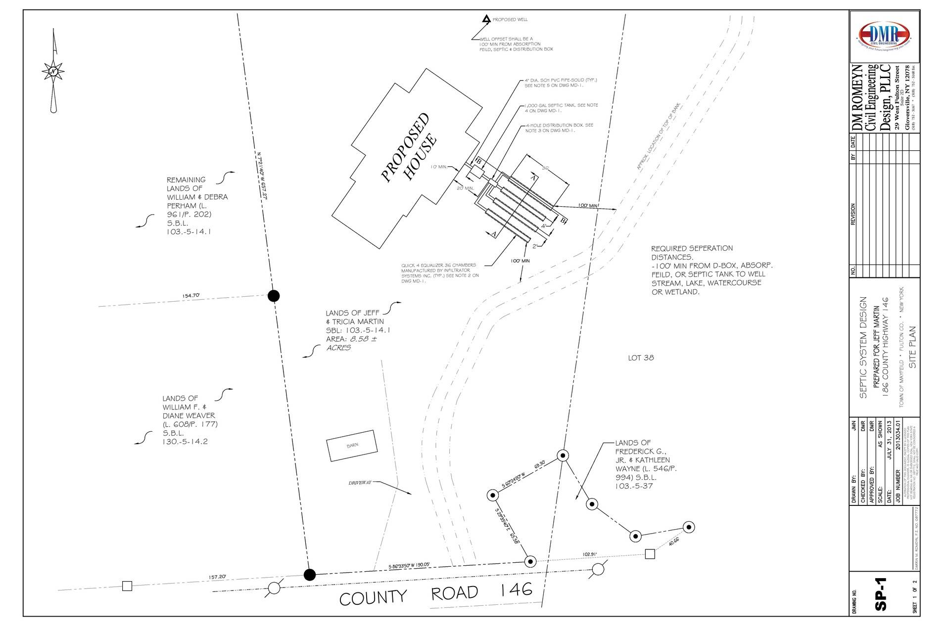 Septic Site Plan