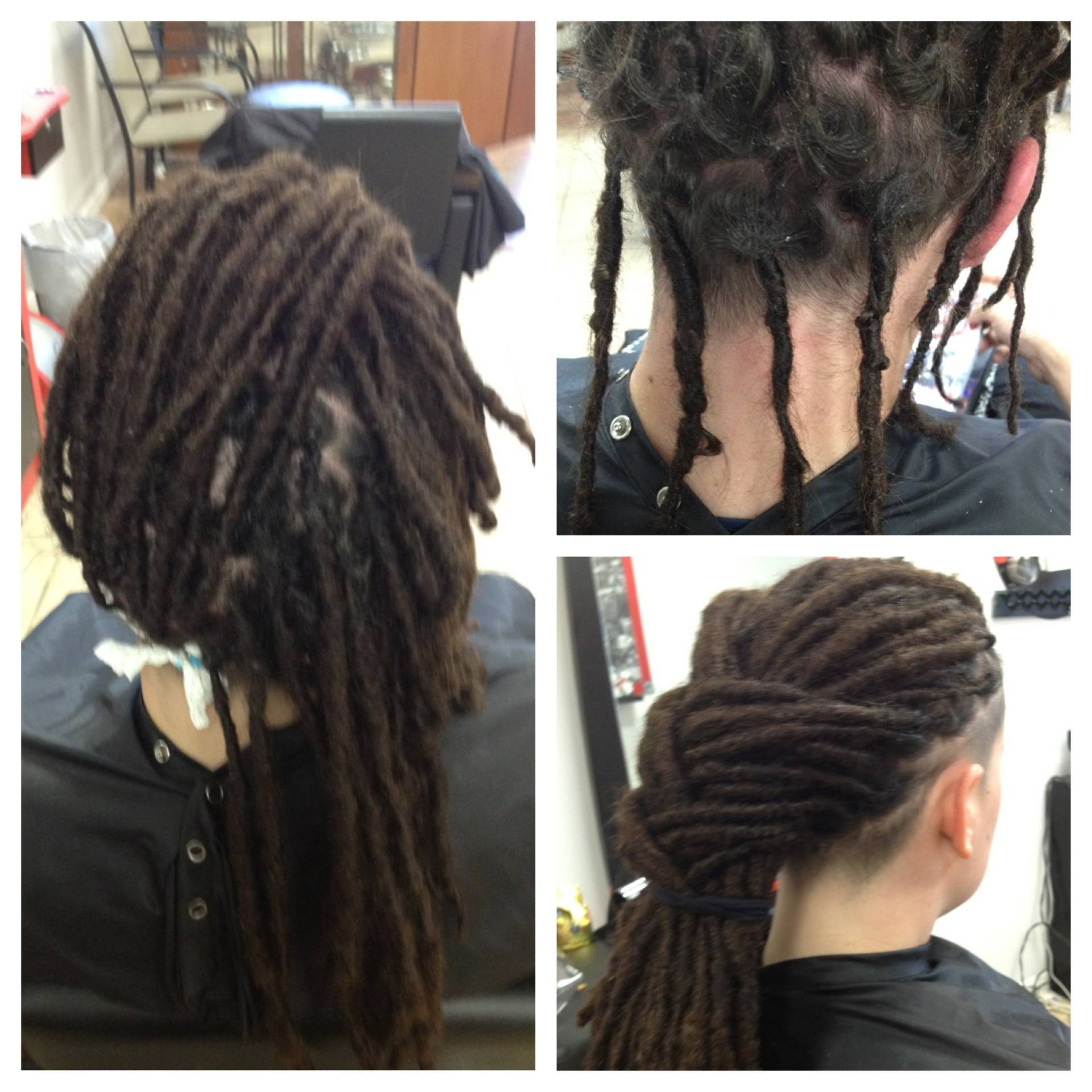 These dreads after Bee took over maintaining them