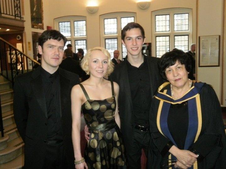 Ensemble Metamusika with N. Gutman