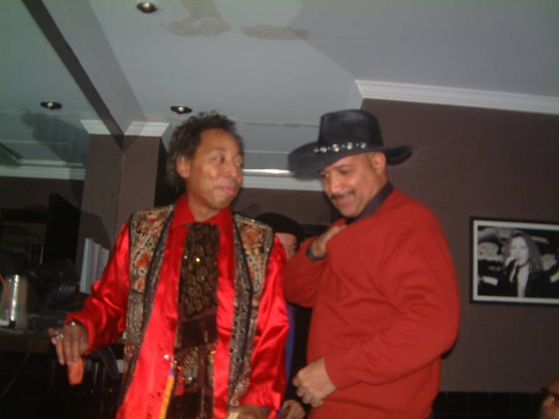 Michael Powers and Eric Durham backstage BBKings NYC