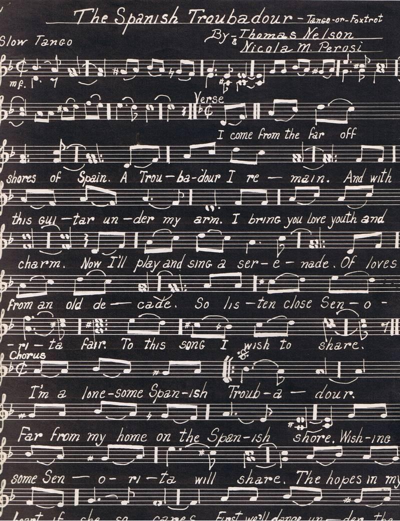 The Spanish Traubadour