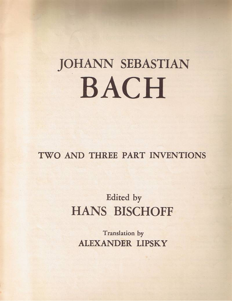 Sebastian BACH Songbook