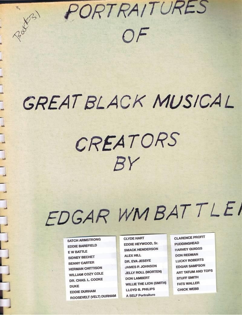 Portraits of Great Black Musical Creators