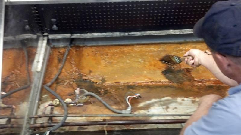 Bottom repair