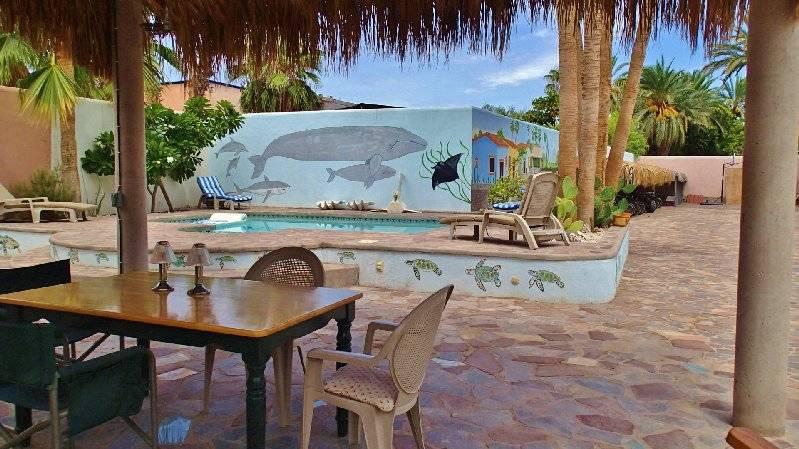 Casita  Pool area