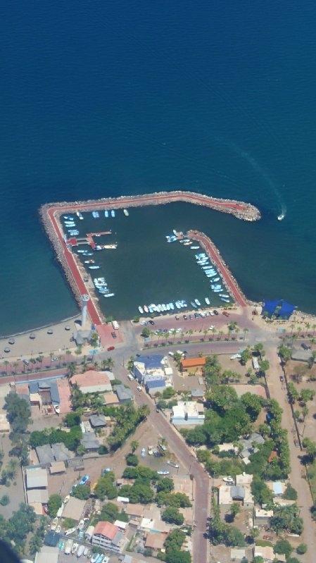 Loreto marina  near Casitas