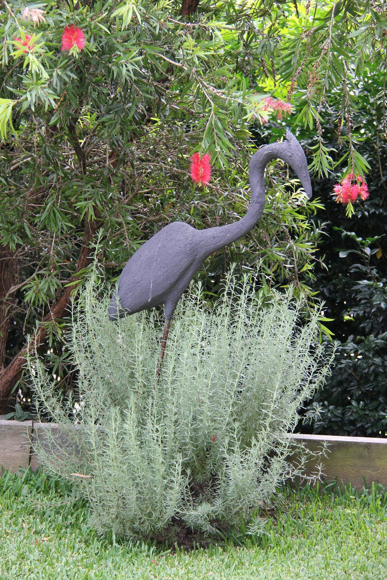 Heron Medium :  Rio and reinforced resin 1000mm x 500mm x 300mm