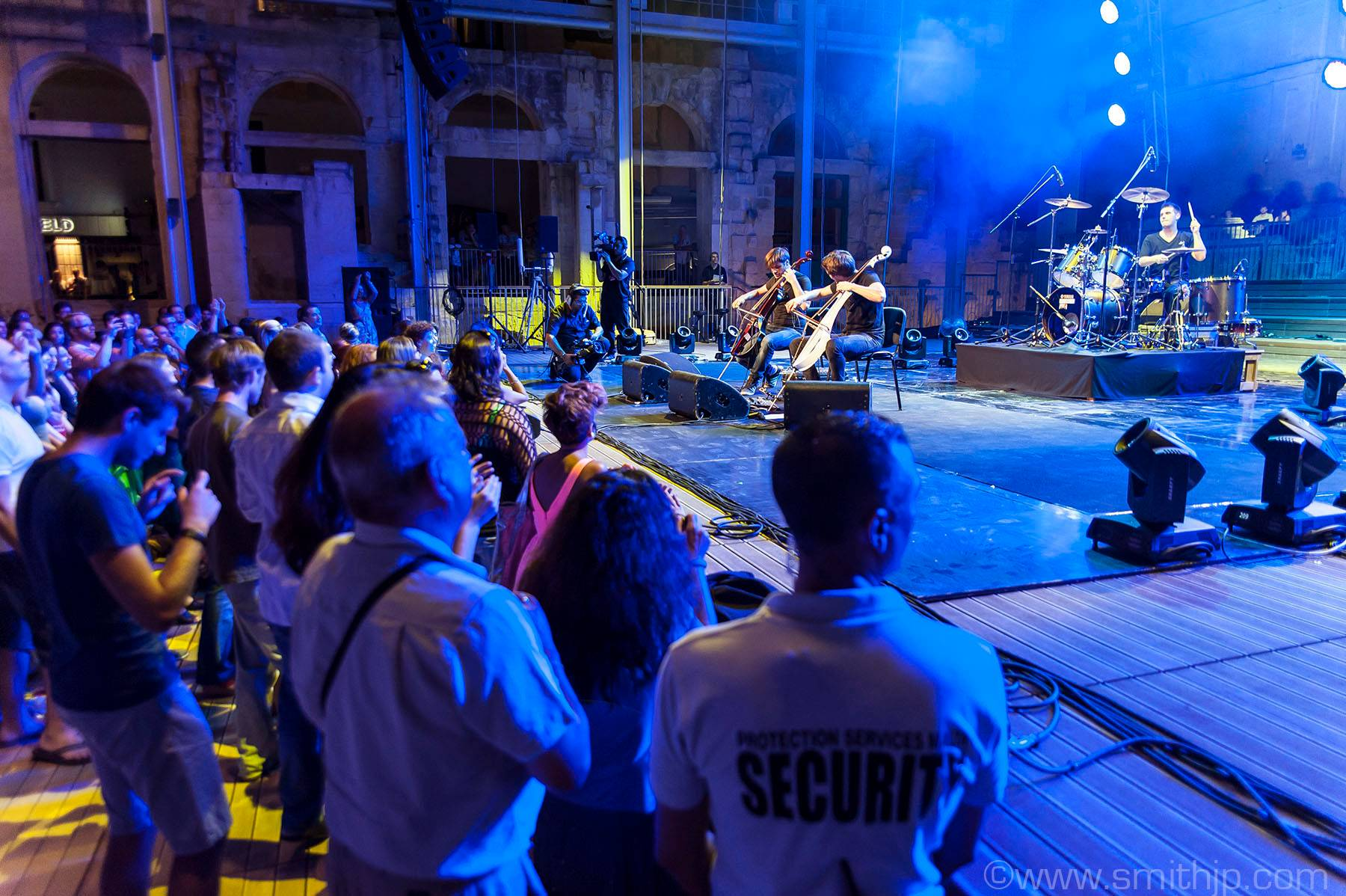 Protection Services During 2 cellos