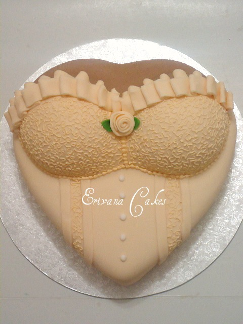 Bridal Shower Cake 3 (SP185)