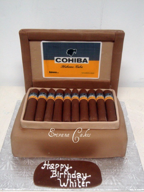 Cohiba Box cake (SP120)
