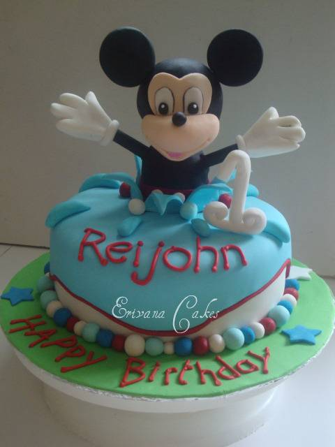Mickey Mouse  Cake 1 (B019)