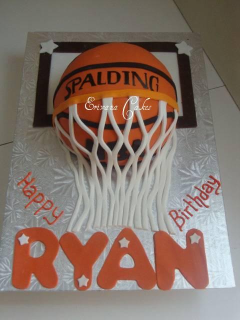 BasketBall Cake (B039)