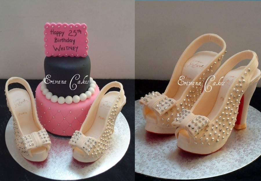 Louboutin Shoe Cake (SP005)