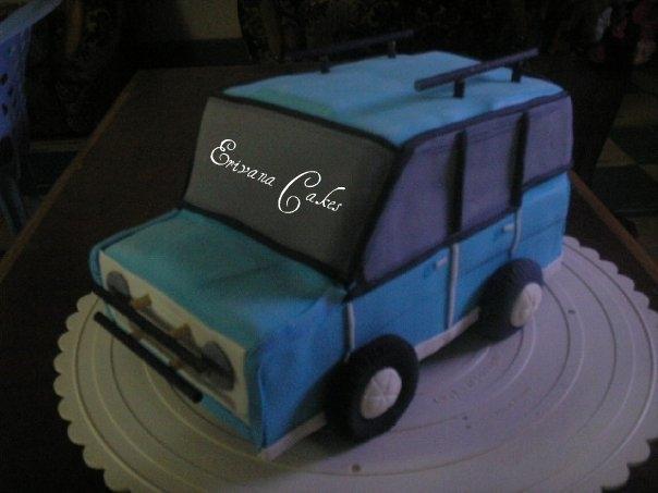 A Jeep cake (B106)