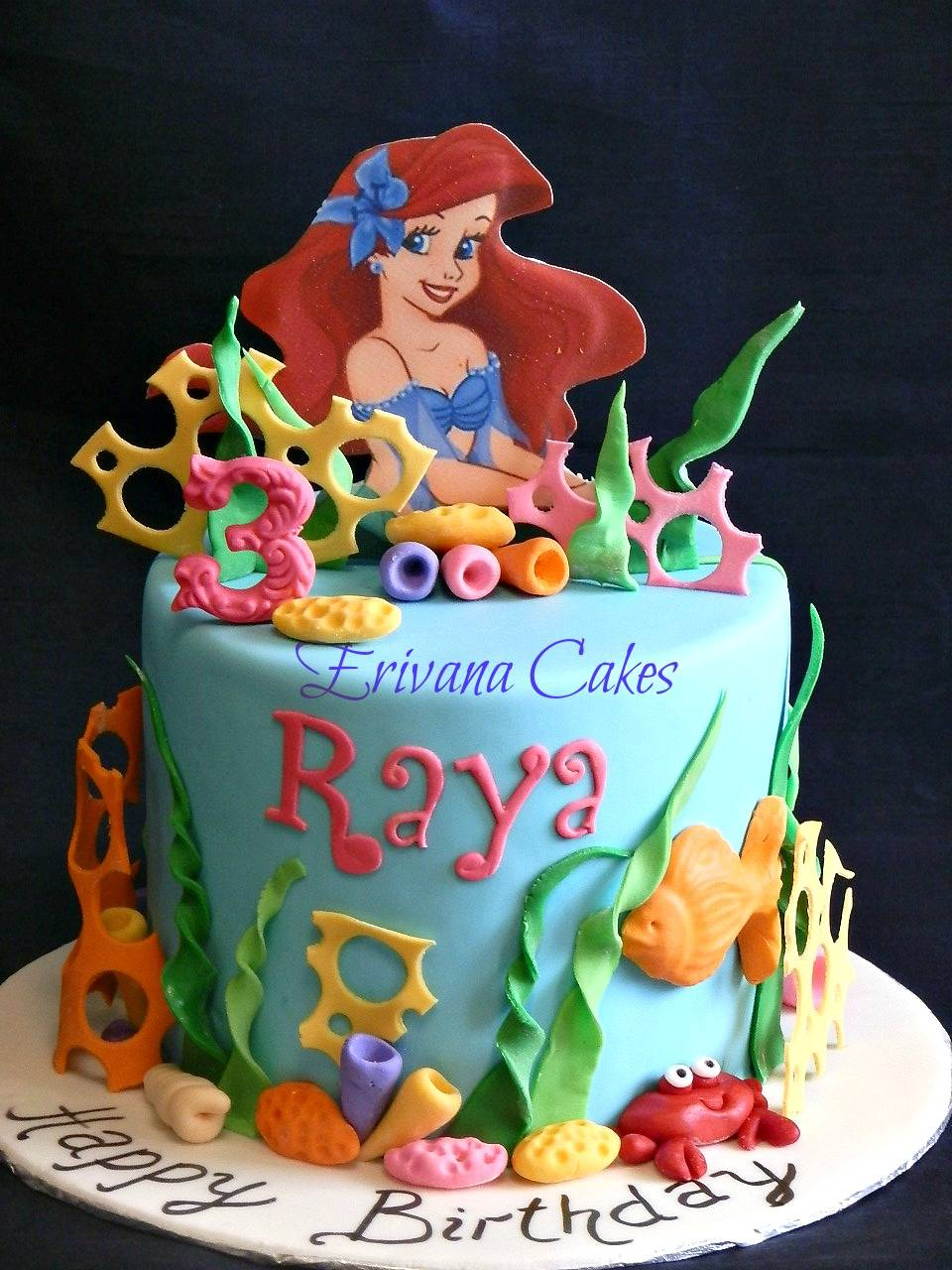 Ariel themed Cake 5