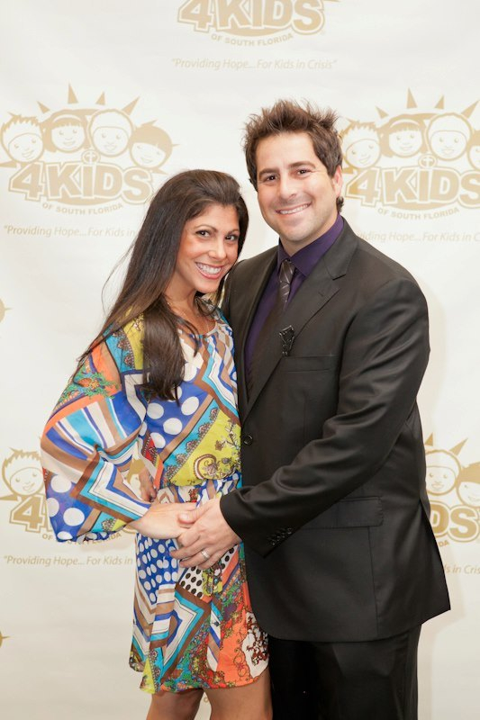 Evan Golden and wife Nikki