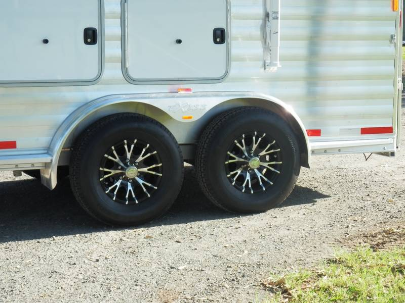 Upgraded aluminium wheels