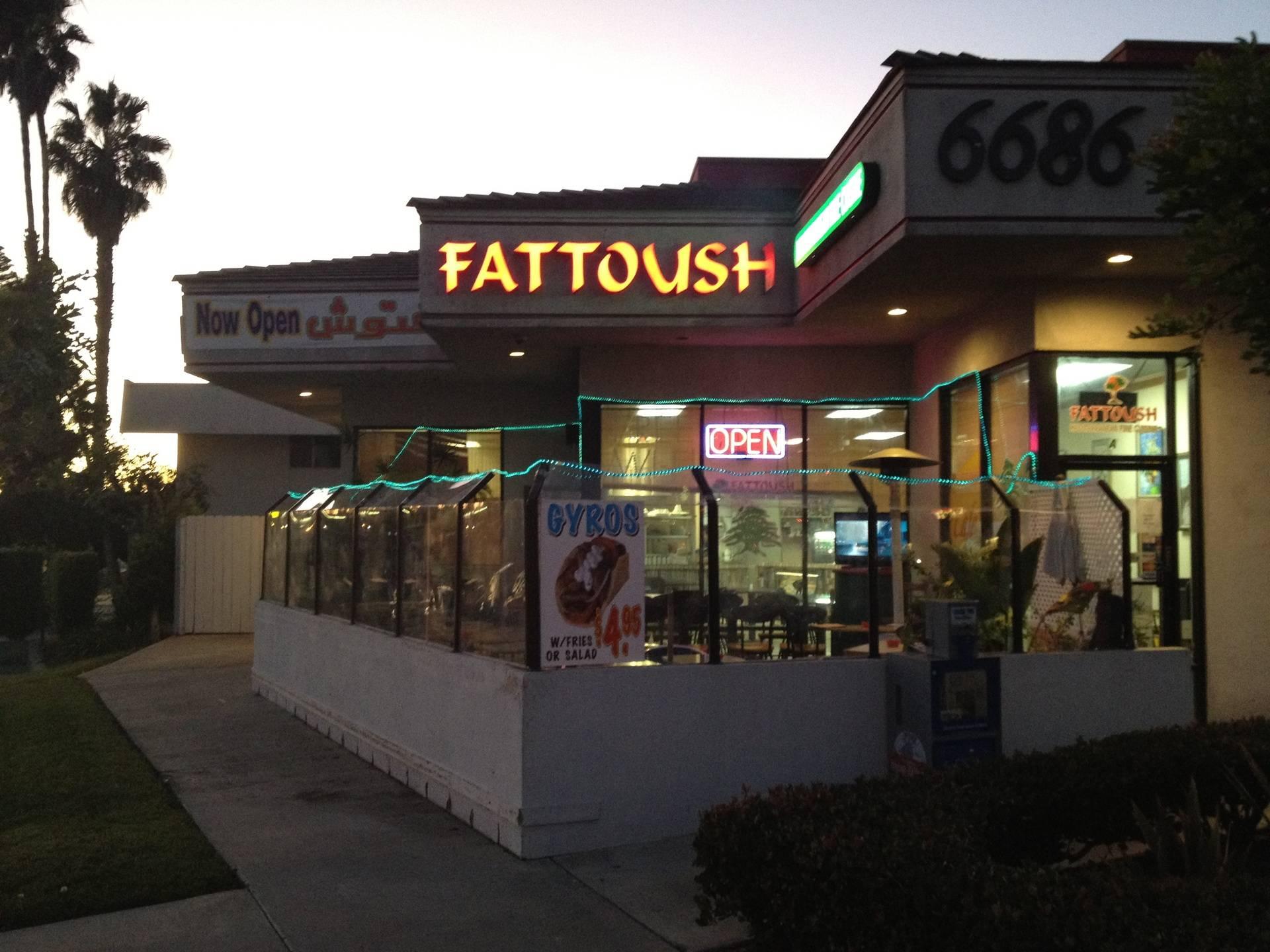 Fattoush San Diego