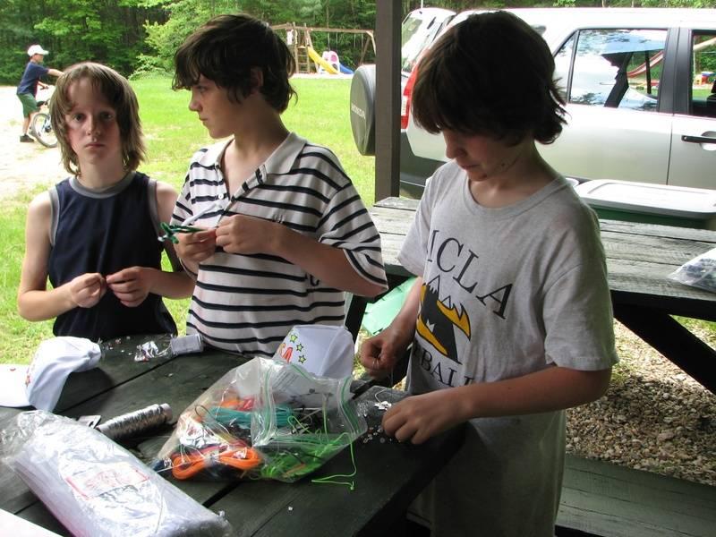Memorial day arts & crafts