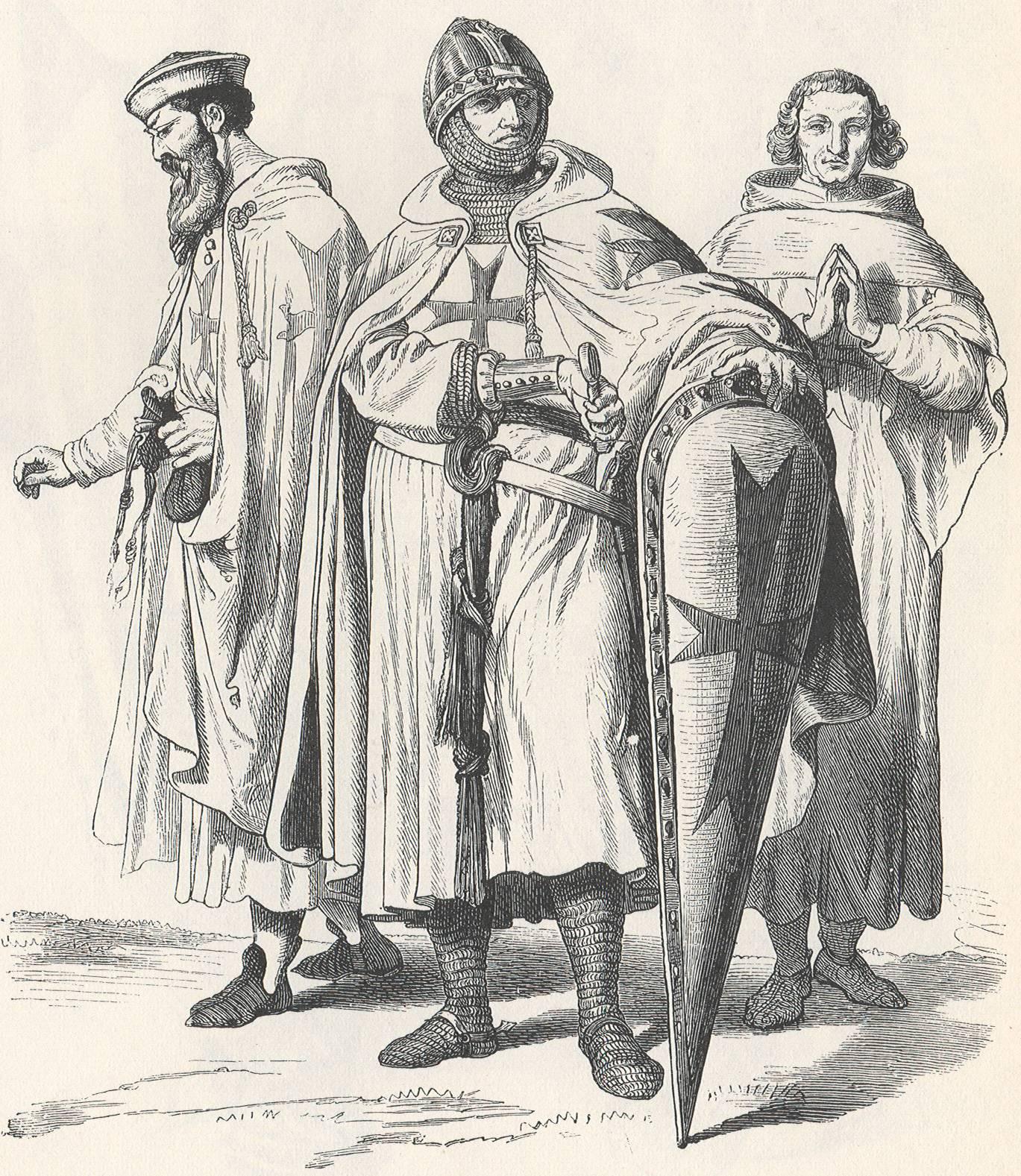 Knights Templar in Costume