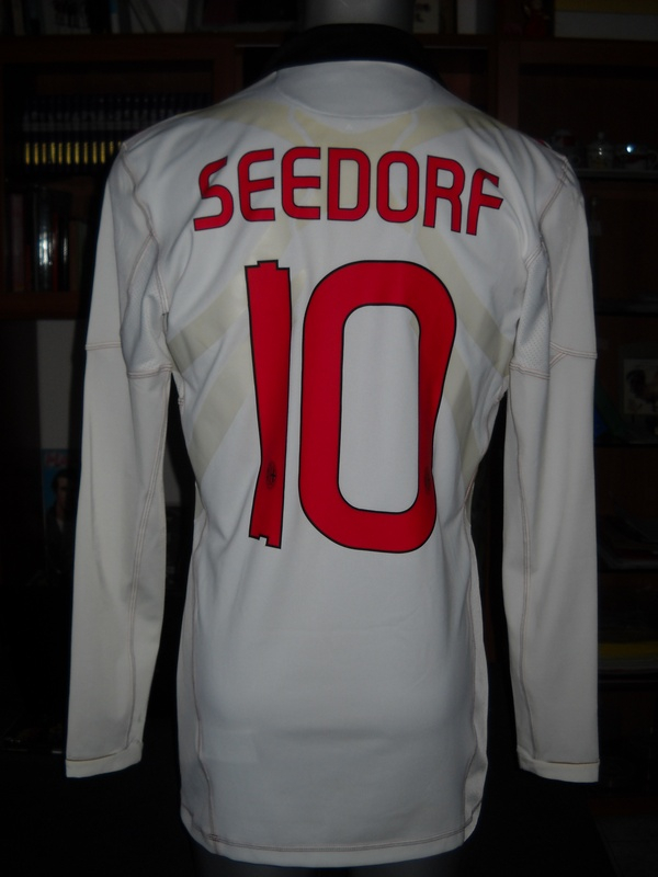 AC MILAN SHIRT 2ND AWAY 10 SEEDORF