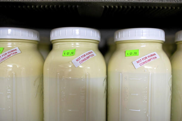 our milk not quite fully-compliant with Court Order