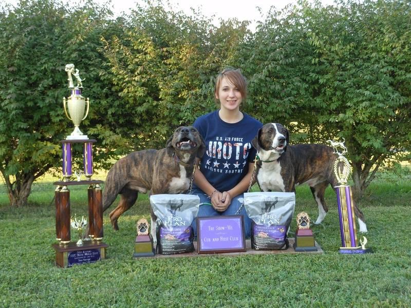 Tia's winnings NKC World Youth Hunt 2012