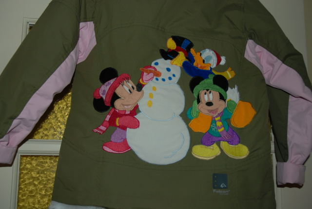 winter jas met disney