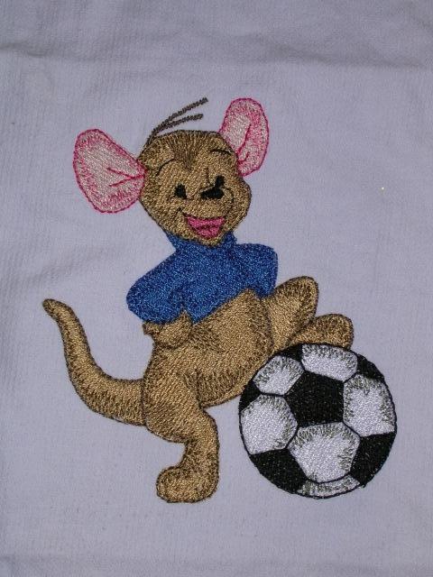 Voetbal roe