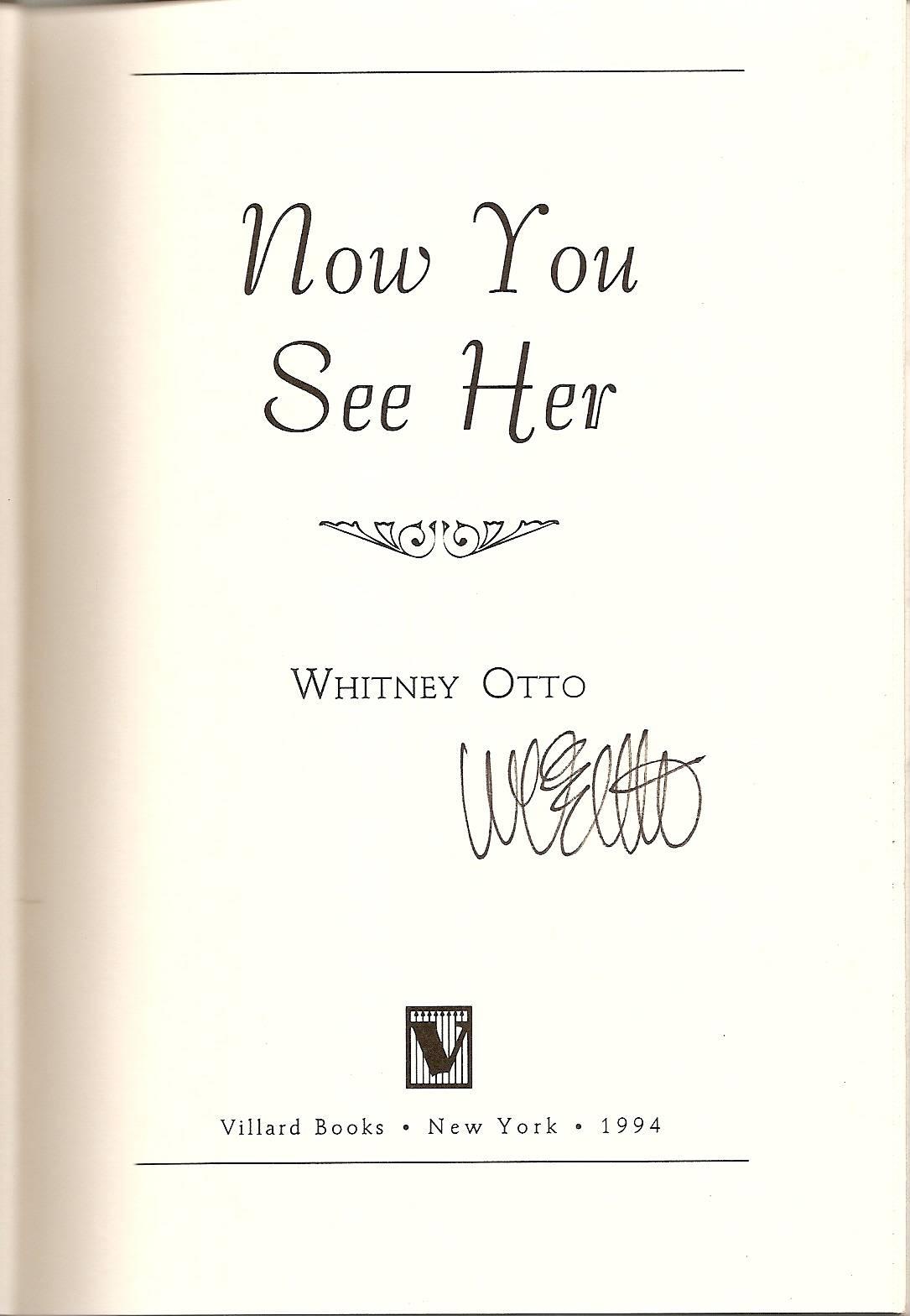 Whitney Otto