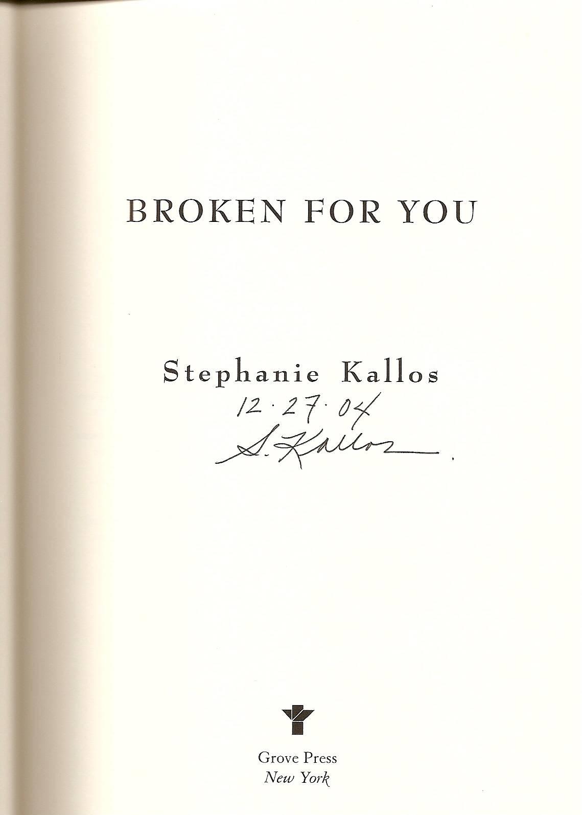 Stephanie Kallos