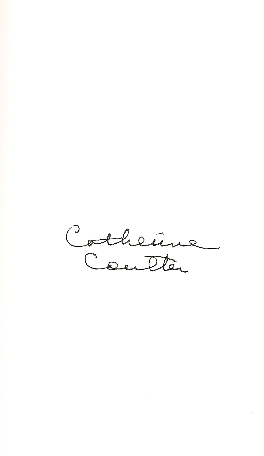 Catherine Coulter