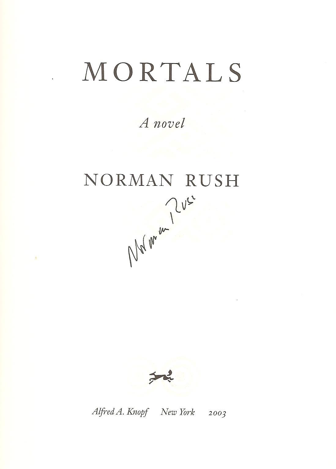 Norman Rush